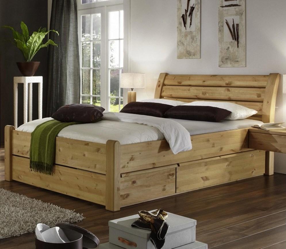 кровати из сосны дизайн идеи
