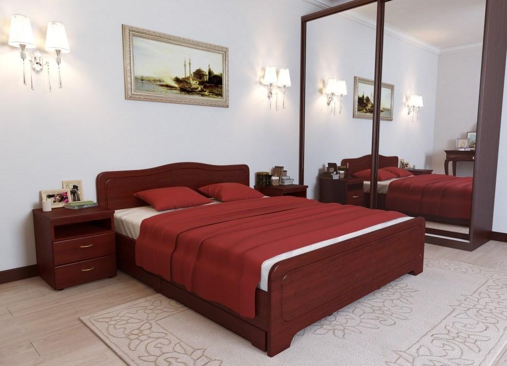 кровати из сосны фото дизайн