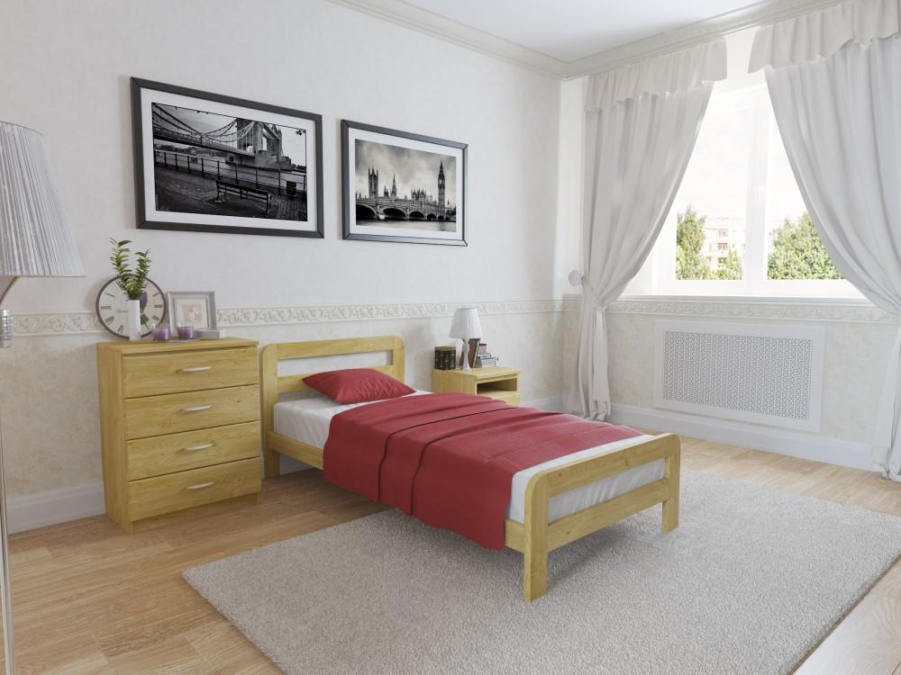 кровати из сосны фото идеи