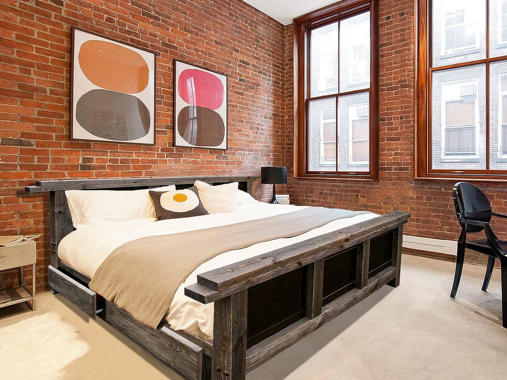 кровати из сосны идеи фото