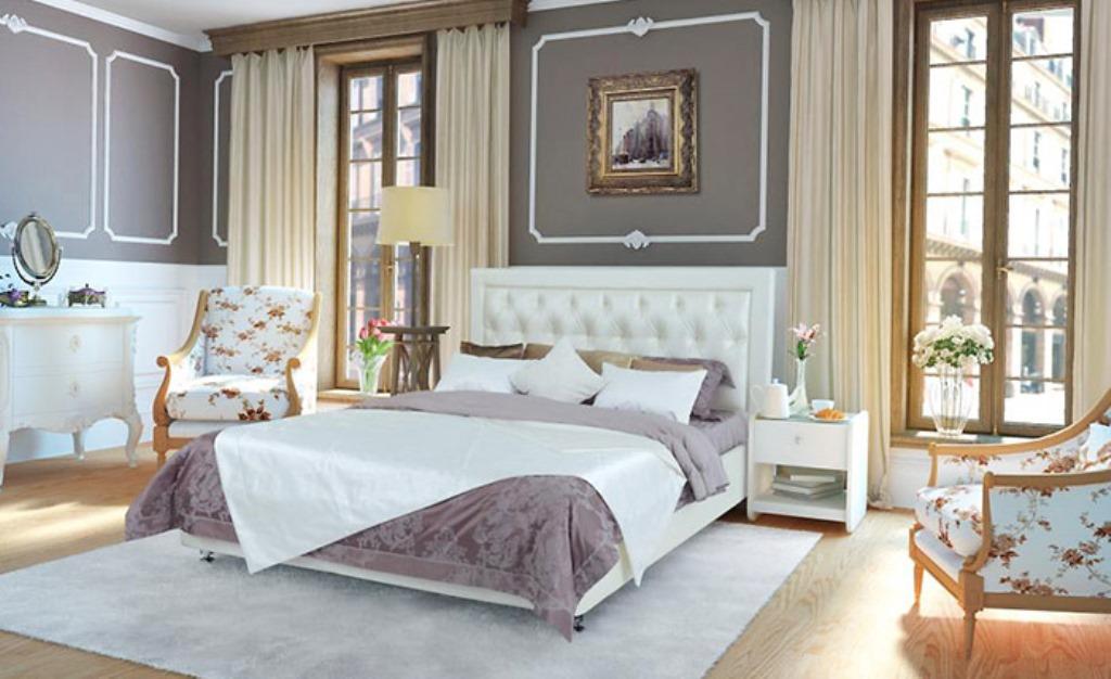 кровати из сосны классика
