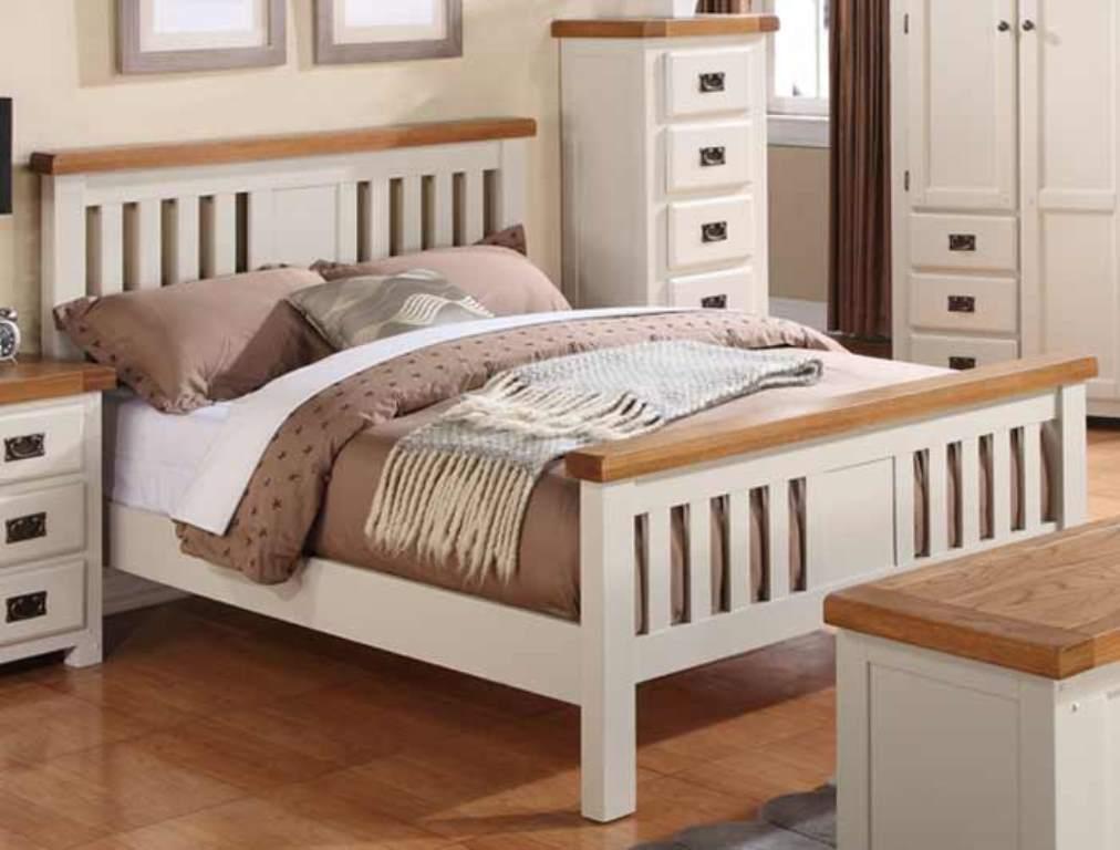 кровати из сосны оформление фото