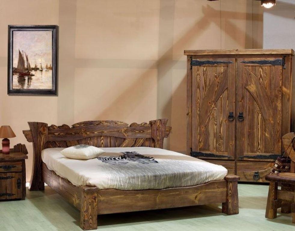 кровати из сосны прованс
