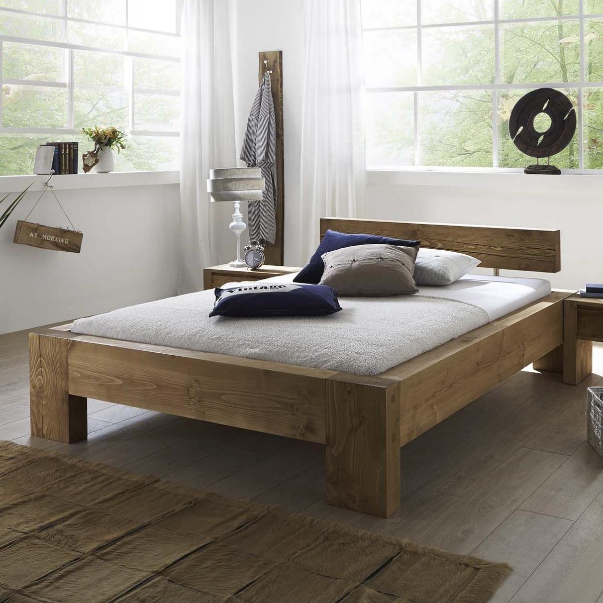 кровати из сосны варианты