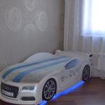 кровать-машина для мальчика под ауди