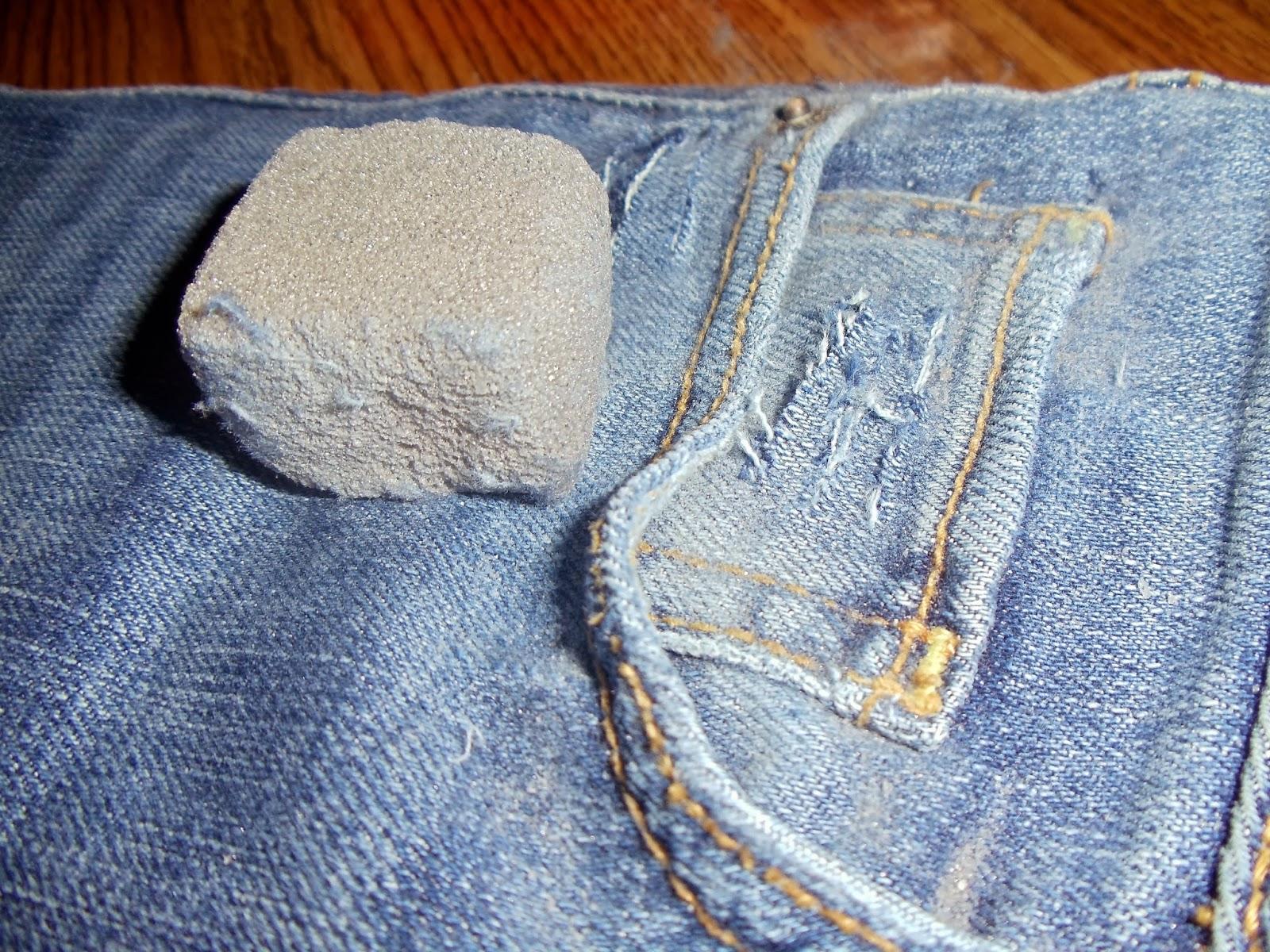крупнозернистая пемза для джинсов