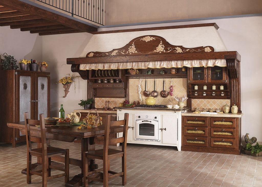мебель под старину коричневая