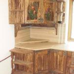 мебель под старину в кухне