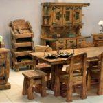 мебель под старину в кухню