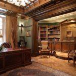 мебель состаренная в кабинет