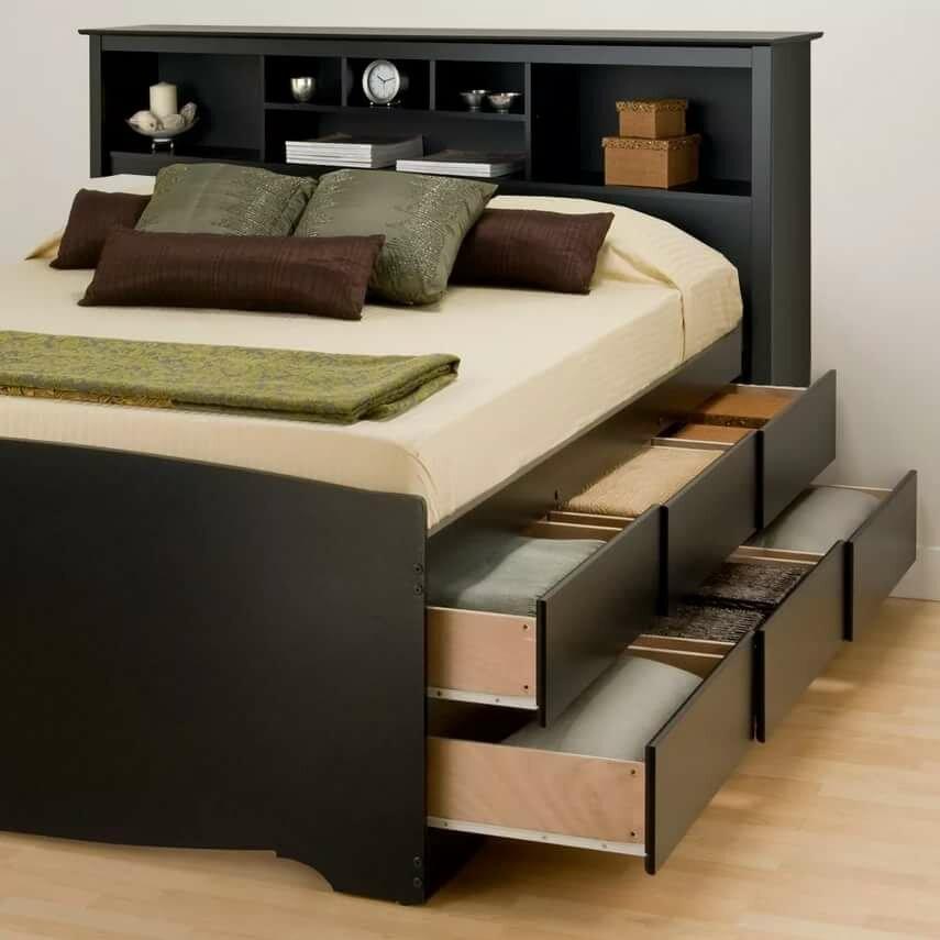 механизмы в кроватях с выдвижными шкафчиками