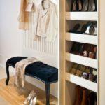 шкаф в прихожей для хранения обуви