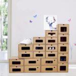 деревянные ящики хранения обуви