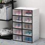 прозрачные ящики для хранения обуви