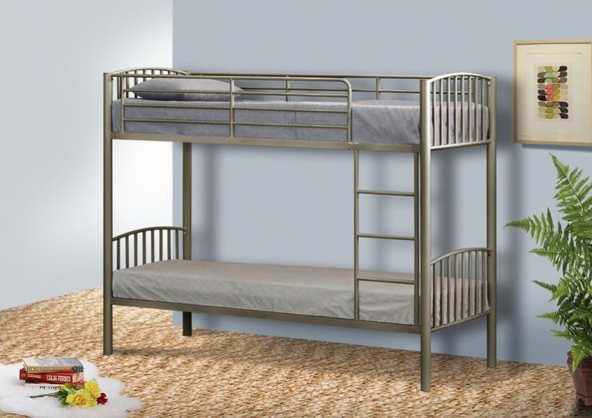 металлическая двухъярусная кровать дизайн идеи