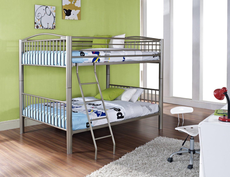 металлическая двухъярусная кровать идеи дизайна
