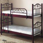 металлические двухъярусные кровати фото дизайна