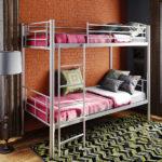 металлические двухъярусные кровати фото