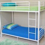 металлические двухъярусные кровати фото оформления