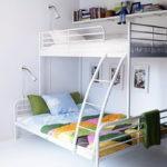 металлические двухъярусные кровати варианты
