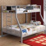 металлические двухъярусные кровати варианты фото