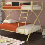 металлические двухъярусные кровати идеи вариантов
