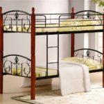 металлические двухъярусные кровати фото видов