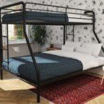металлические двухъярусные кровати виды идеи