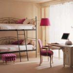 металлические двухъярусные кровати обзор
