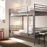 металлические двухъярусные кровати виды дизайна
