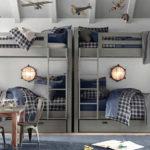металлические двухъярусные кровати виды оформления