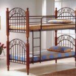 металлические двухъярусные кровати варианты дизайна
