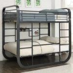 металлические двухъярусные кровати идеи обзор