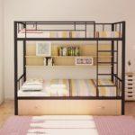 металлические двухъярусные кровати идеи варианты
