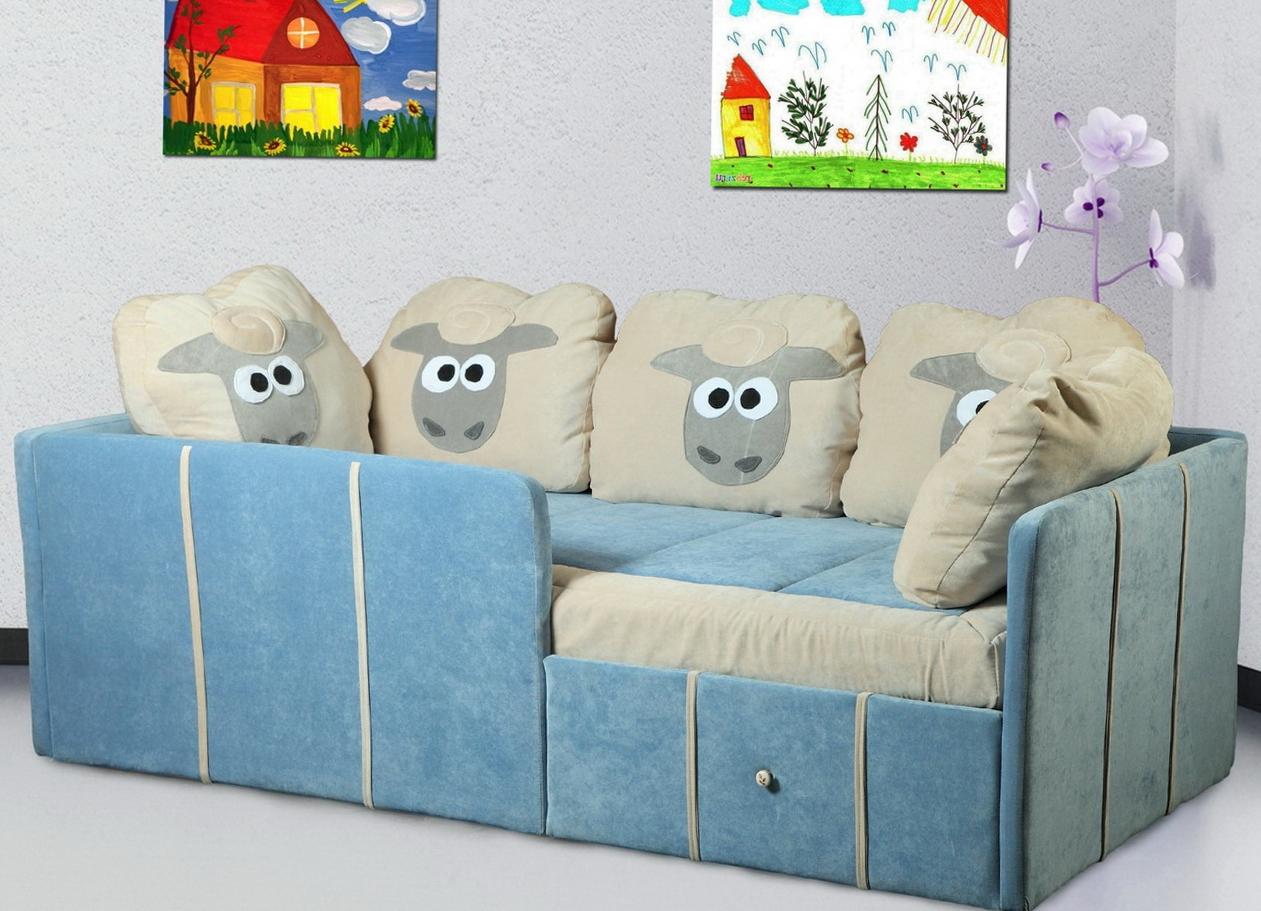 мягкая детская кровать с бортиками