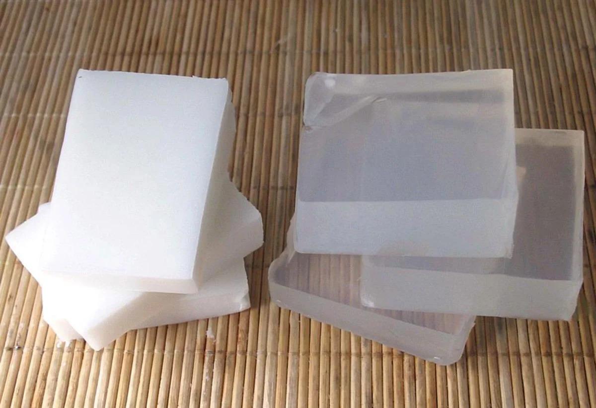 мыльная основа белая и прозрачная