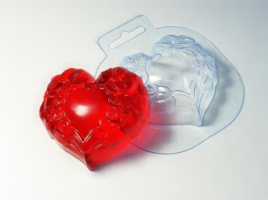 мыло из пластиковой формы
