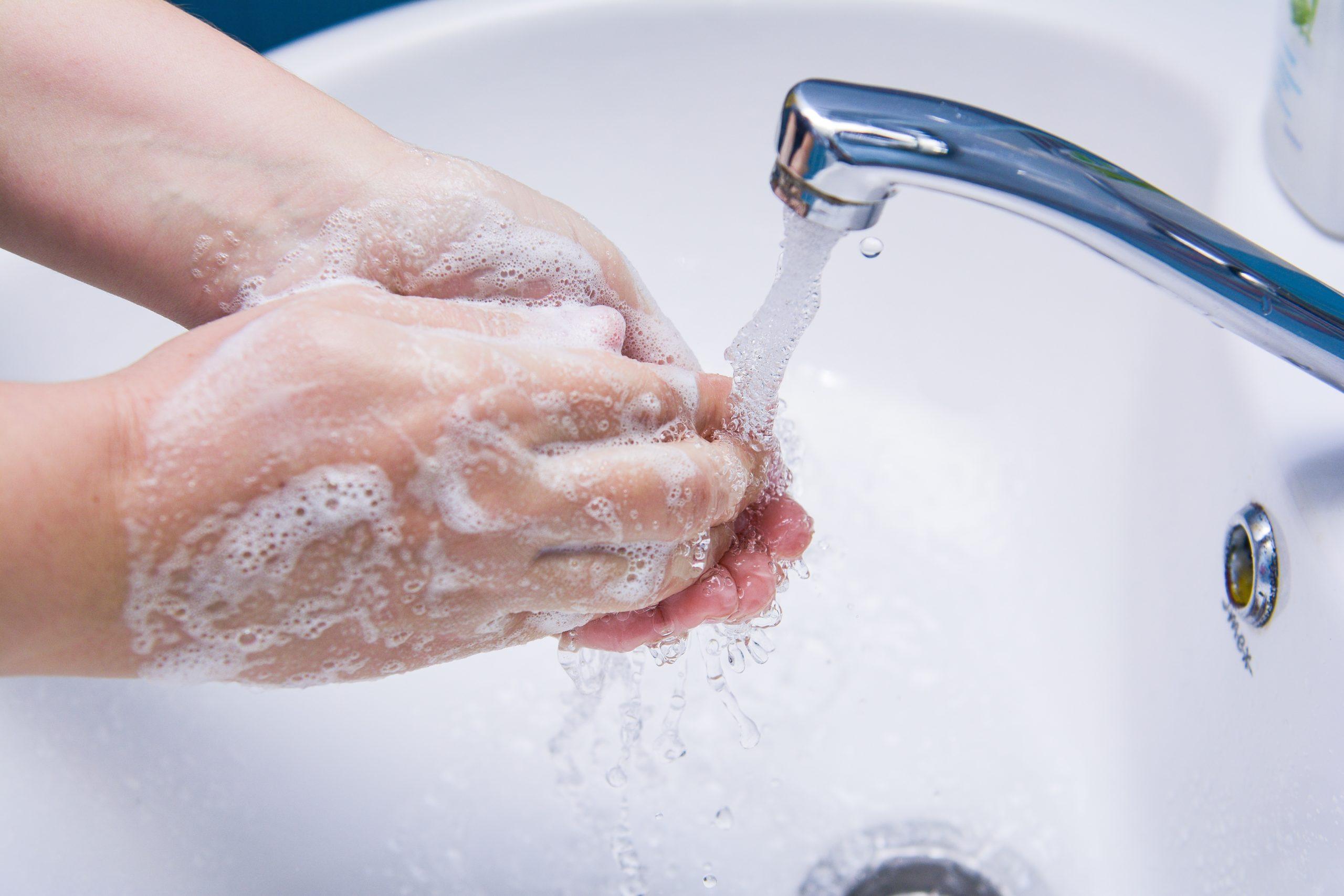 вода с мылом антисептик