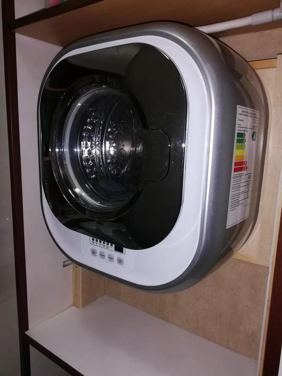 настенная стиральная машина дизайн