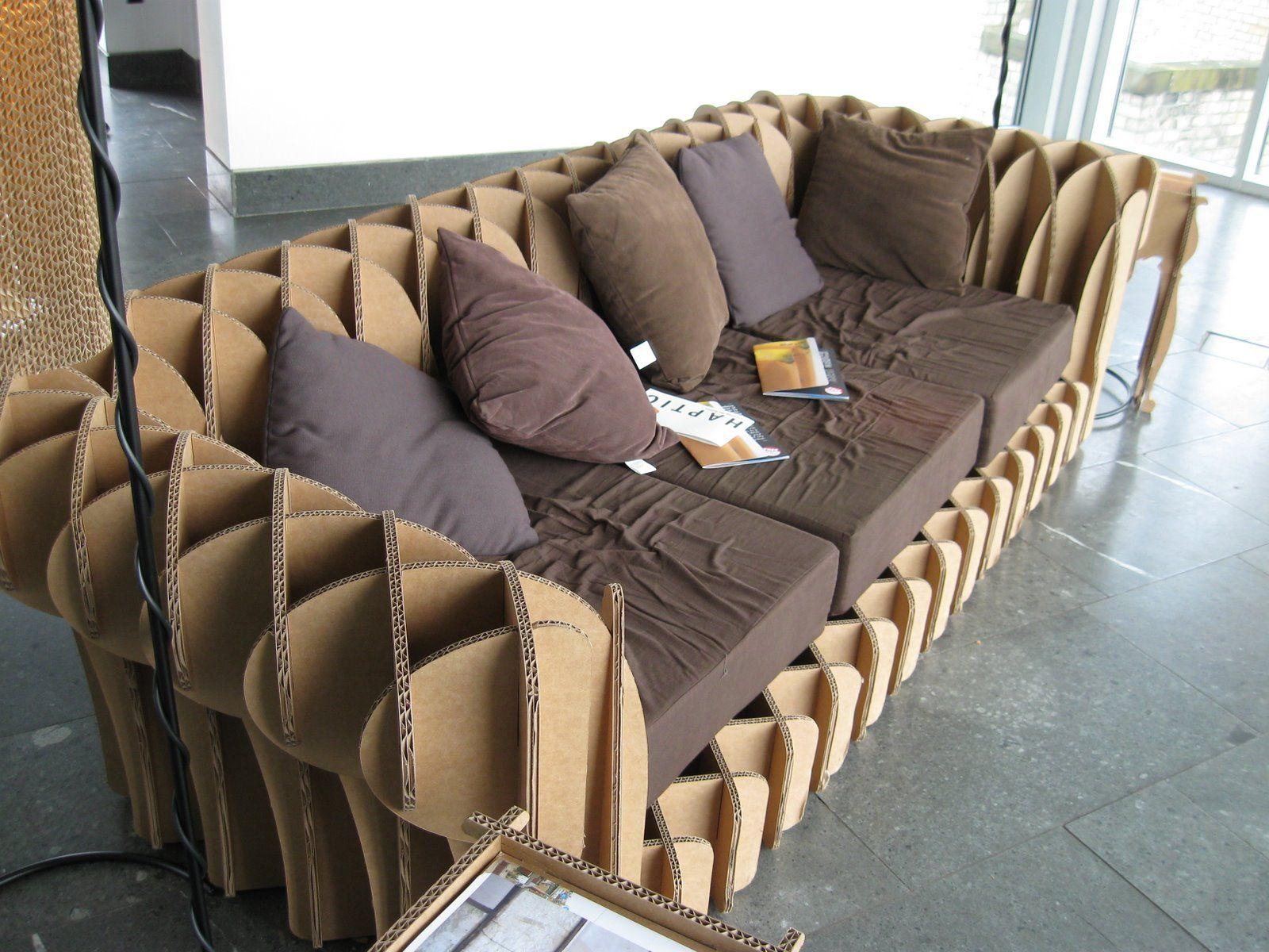 мебель сам из картона