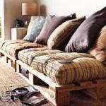 мебель своими руками с подушками