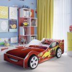 кровать машинка для гонщика