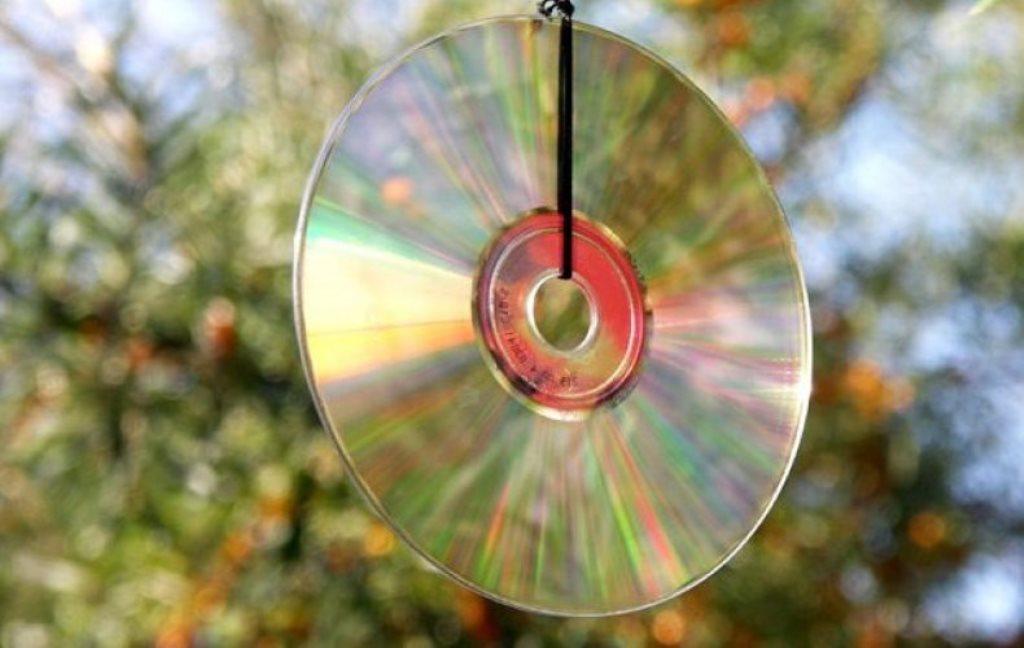 отпугиватель птиц из дисков
