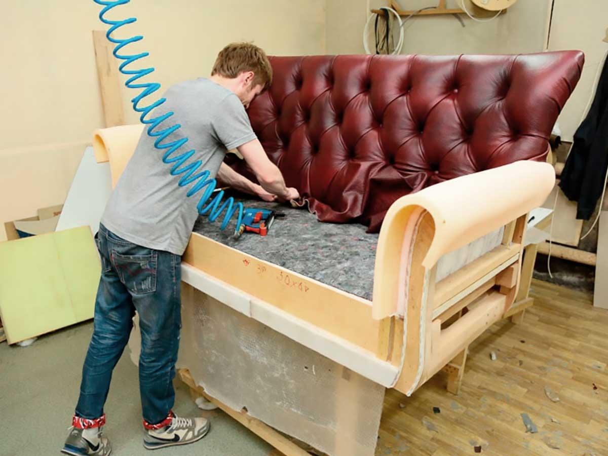 инструменты для перетяжки дивана