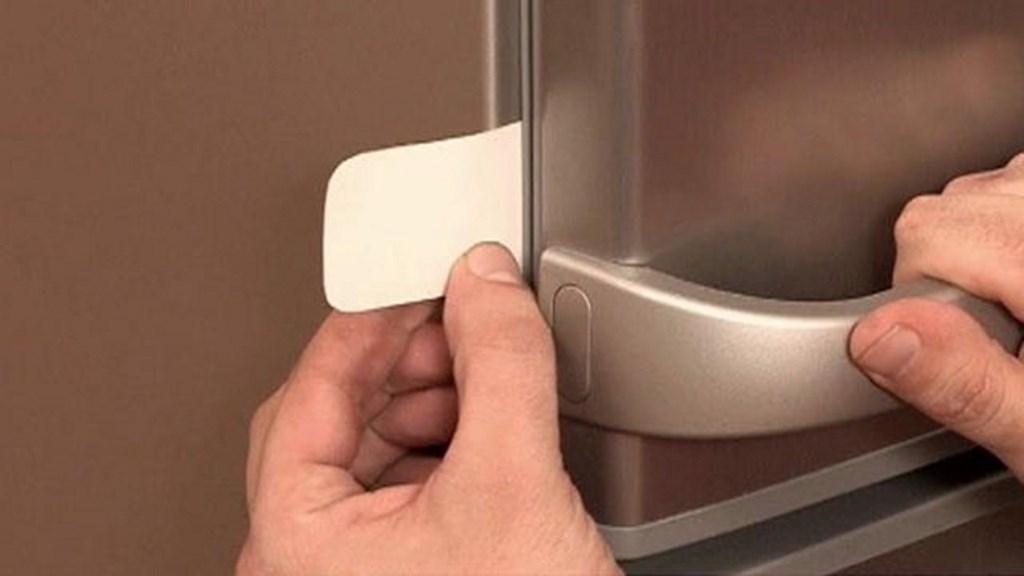 проверка резинки холодильника