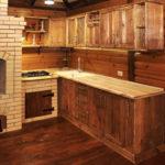 старинная мебель в кухню