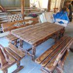 старинная мебель лавка