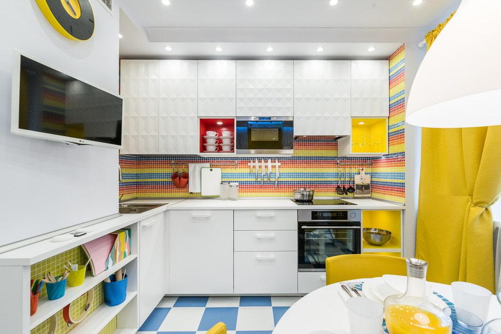 подходящие цвета для кухни