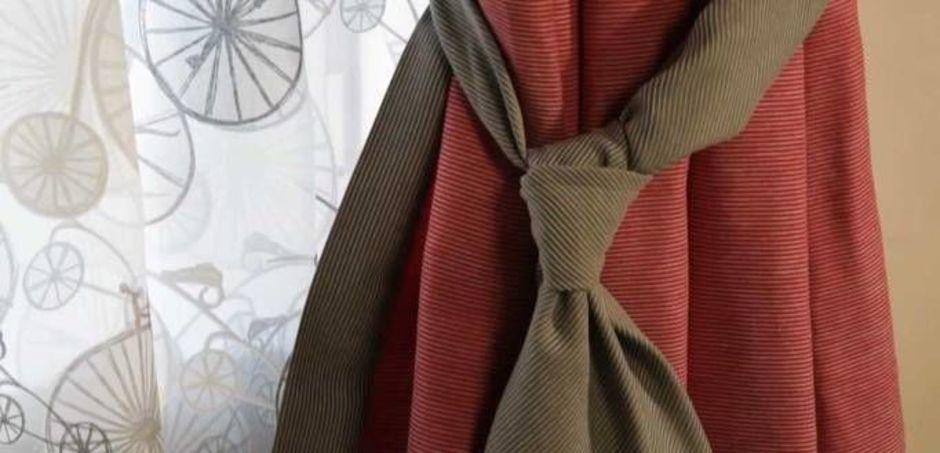 подхваты для штор галстуки