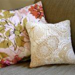 подушки для дивана фото варианты